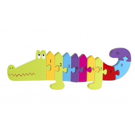 Orange Tree Crocodile Number Puzzle