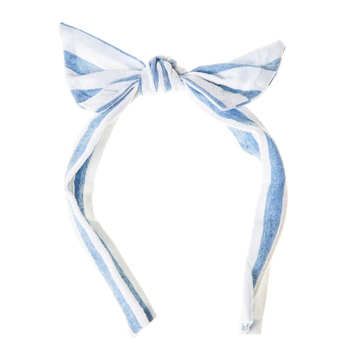Rockahula Stripy Tie Headband Blue