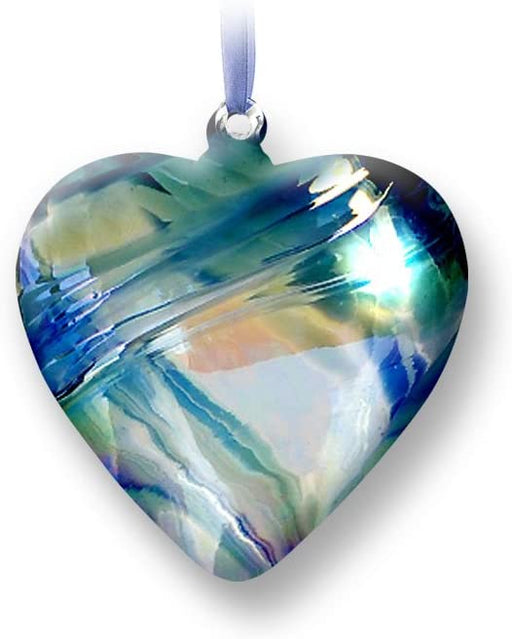 Nobile Glassware Birth Gem Heart - December