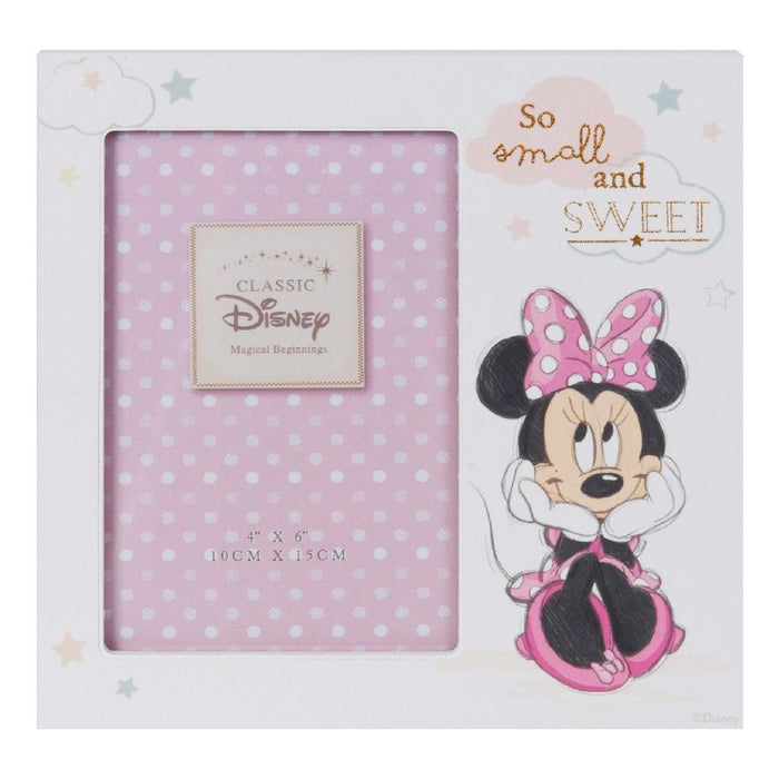 "Disney Magical Beginnings Minnie 4"" X 6"" Photo Frame"
