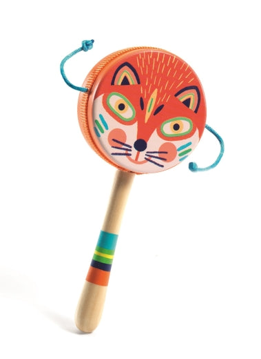 Djeco Animambo Fox Handle Drum