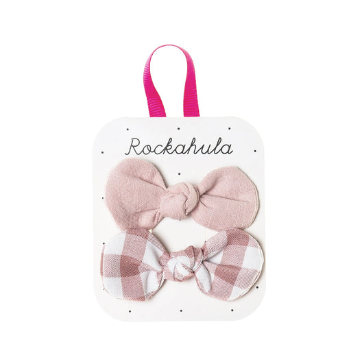 Rockahula Cute Pink Bow Clips