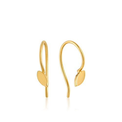 Ania Haie Hook Gold Earrings