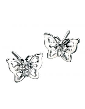 D For Diamond Butterfly Earrings