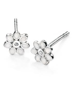 D For Diamond Daisy Earrings