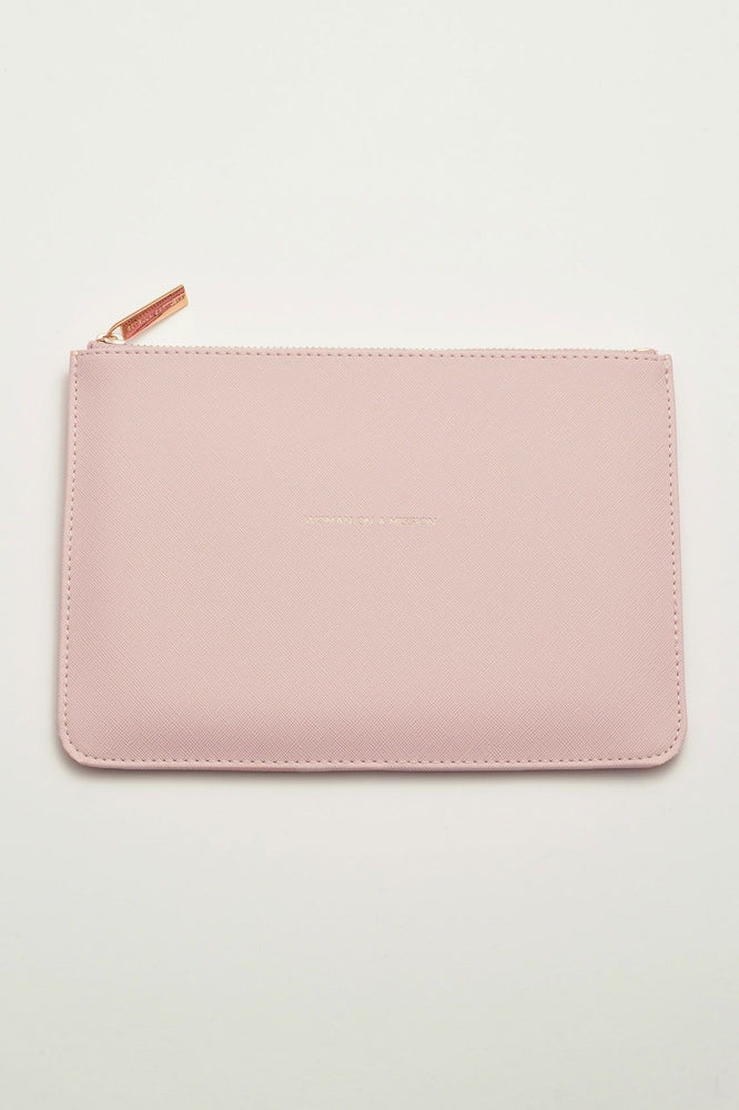 Estella Bartlett Woman On A Mission Blush Medium Pouch