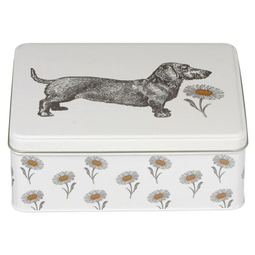 Ginger & Honey Biscuits in Dog & Daisy Deep Rectangular Tin
