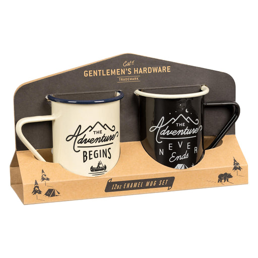 Gentleman's Hardware Enamel Mug Set
