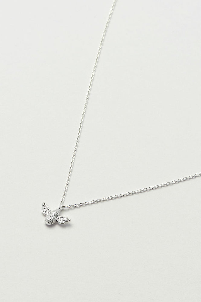 Estella Bartlett Bee Necklace Silver