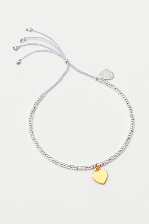 Estella Bartlett Louise Bracelet with Gold Heart Charm
