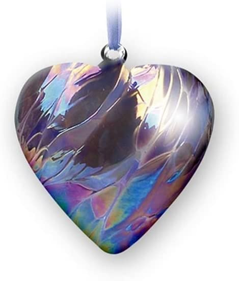 Nobile Glassware Birth Gem Heart - February