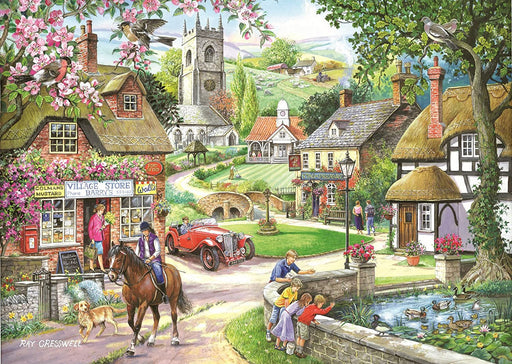 HOP Feeding the Ducks 1000 Piece Jigsaw Puzzle