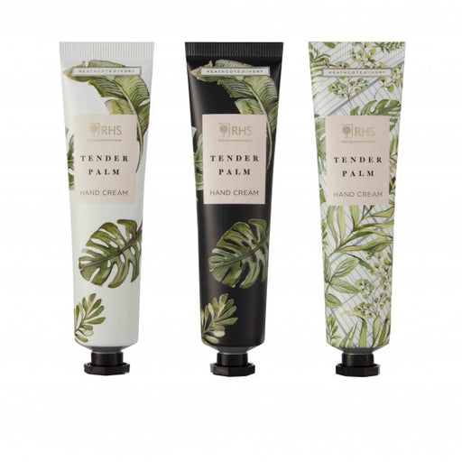 Heathcote & Ivory RHS Tender Palm Three Hand Creams