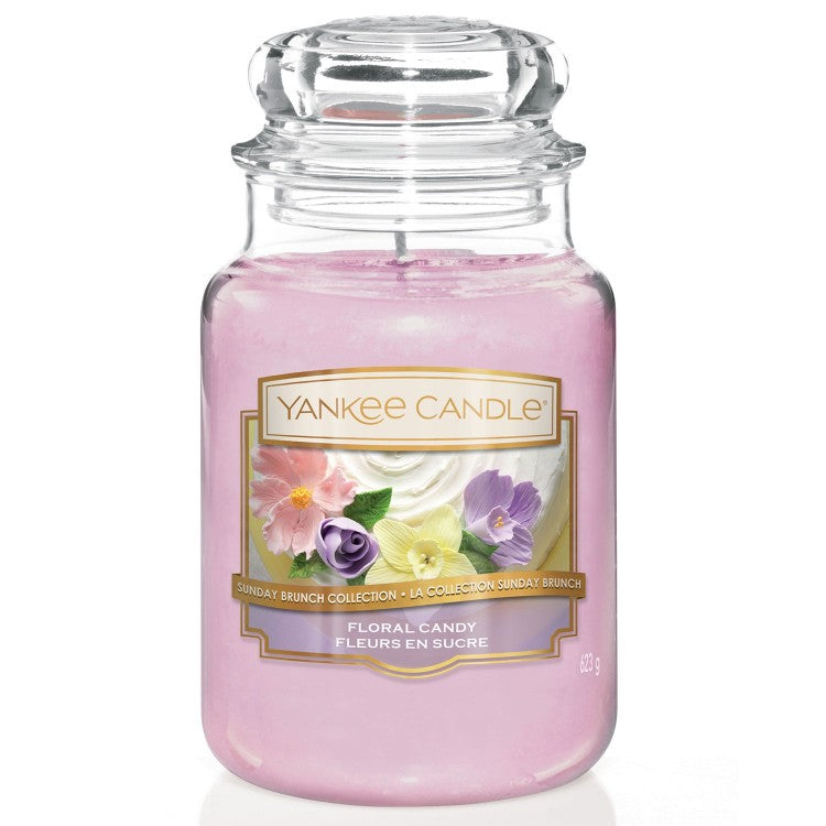 Yankee Candle Large Jar Floral Candy