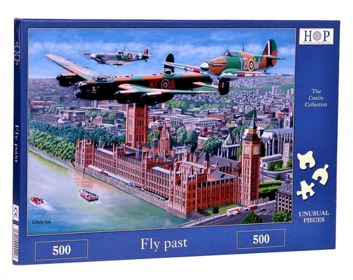 HOP Fly Past 500 Piece Jigsaw Puzzle