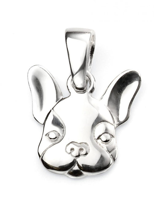 Sterling Silver Animal Necklace French Bulldog