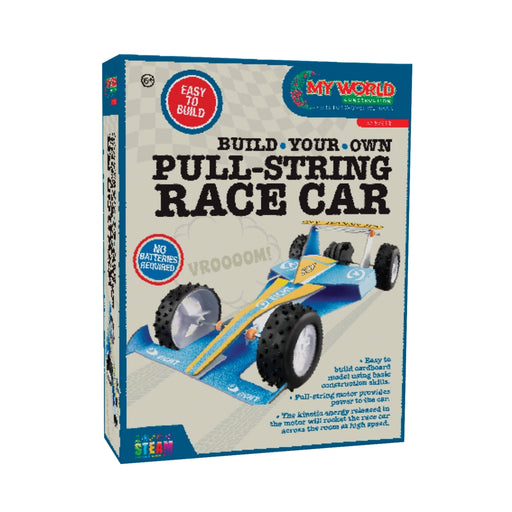 Build Your Own Pull-String Race Car