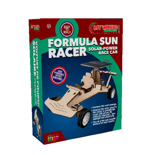 Solar-Power Formula Race Car Construction