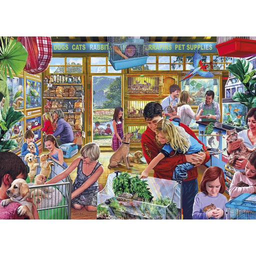 Gibsons Furry Friends 1000pc Jigsaw Puzzle