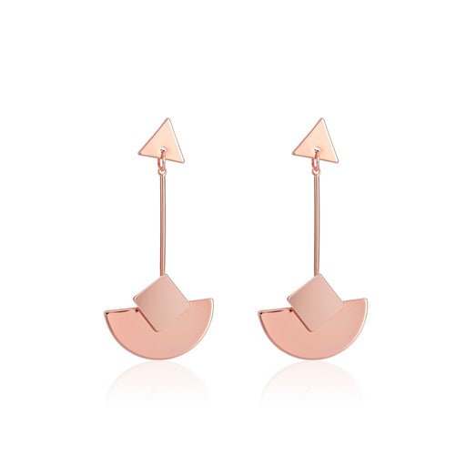 Belle & Beau Geo Curve Earrings