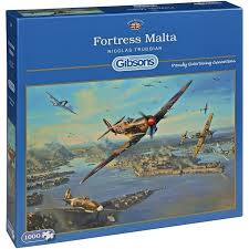 Gibsons Fortress Malta 1000pc Jigsaw Puzzle