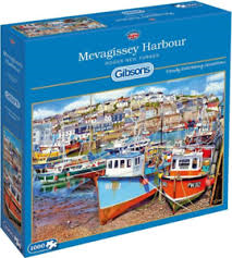 Gibsons Mevagissey Harbour 1000pc Jigsaw Puzzle