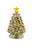 Lit Gold Dolomite Tree with Lights 18cm