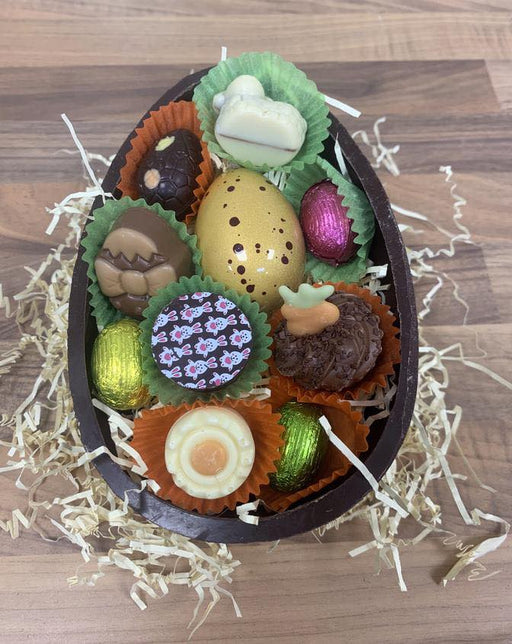 Milk Easter Half Egg Chocolate Selection - CHOOSE SIZE!