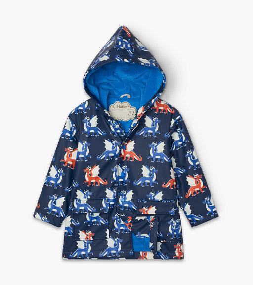 Hatley Dragons Colour Changing Raincoat