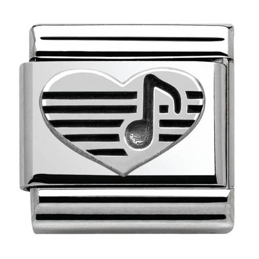 Nomination Classic Charm - Heart with Music Note