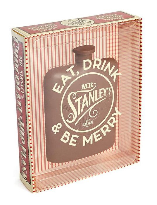 Mr Stanleys Solid Chocolate Hip Flask