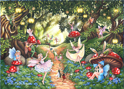 HOP Faerie Dell Big 500 Piece Jigsaw Puzzle