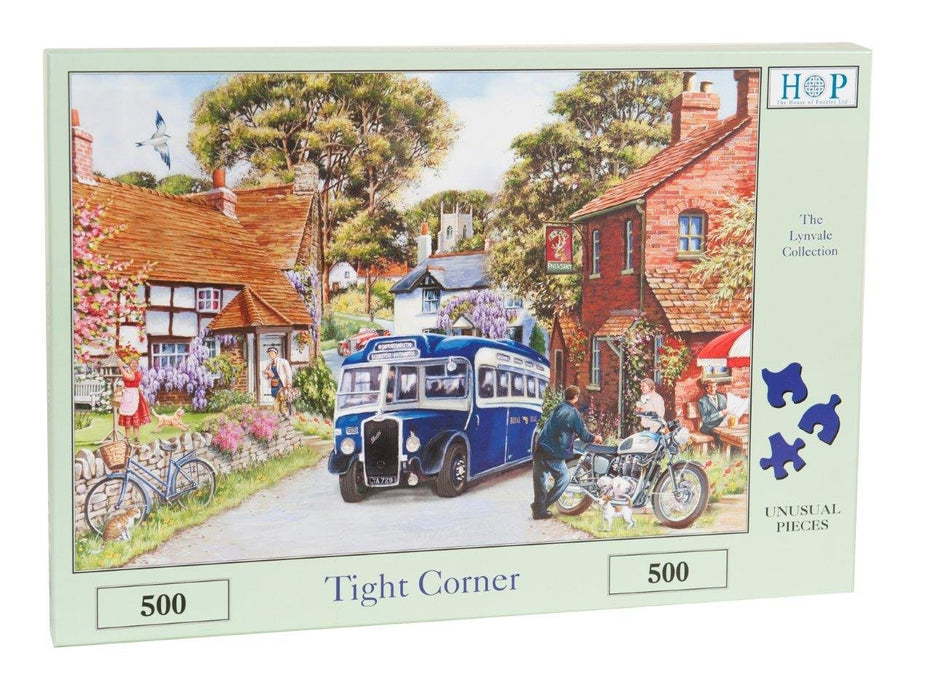 HOP Tight Corner 500 Piece Jigsaw Puzzle