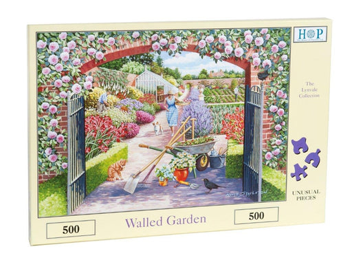 HOP Walled Garden 500 Piece Jigsaw Puzzle