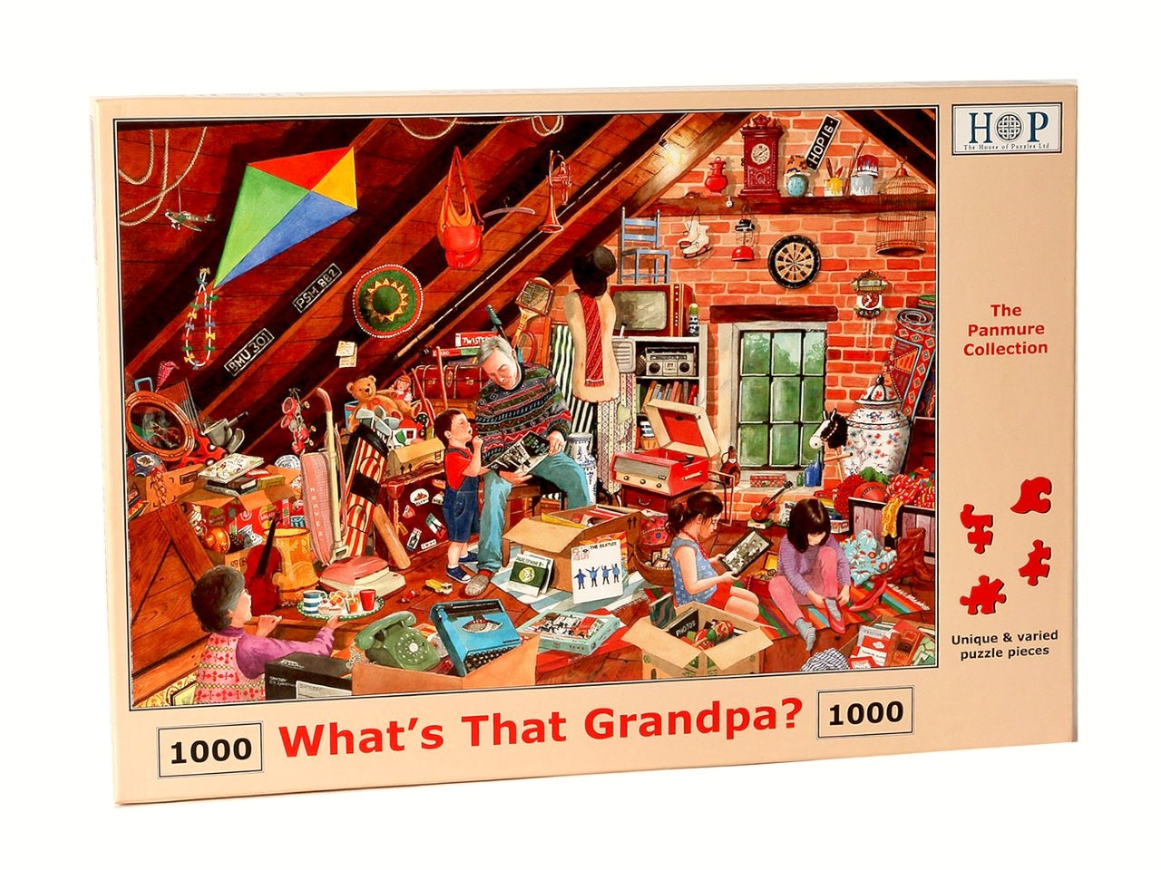 HOP What's That Grandpa 1000 Piece Jigsaw Puzzle
