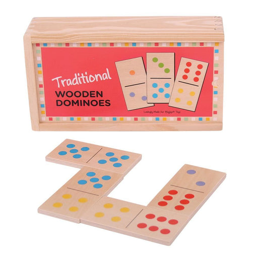 Bigjigs Tradition Wooden Dominoes
