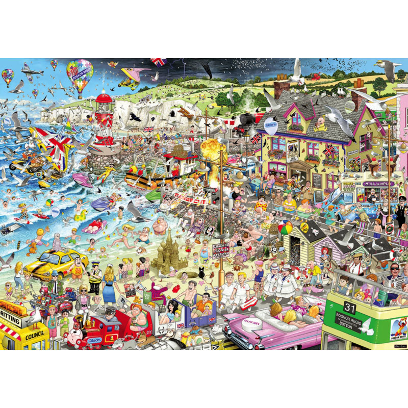 Gibsons I Love Summer 1000pc Jigsaw Puzzle