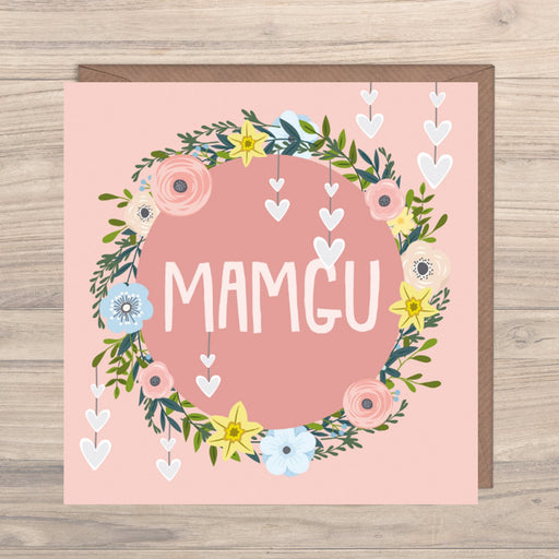 Max Rocks Designs Mamgu - Grandmother Card