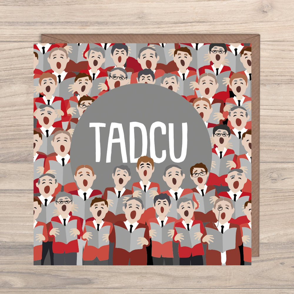 Max Rocks Designs Tadcu - Grandfather Card
