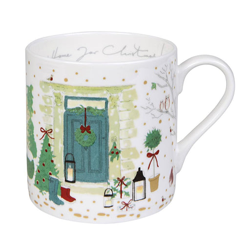 Sophie Allport Holly & Berry Home for Christmas Mug