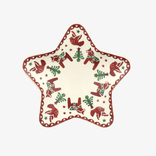 Emma Bridgewater Christmas Joy Small Star Plate