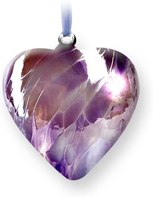 Nobile Glassware Birth Gem Heart - June