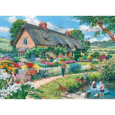 HOP Lazy Days 500 Piece Jigsaw Puzzle