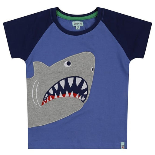Lilly & Sid T-Shirt Applique Shark