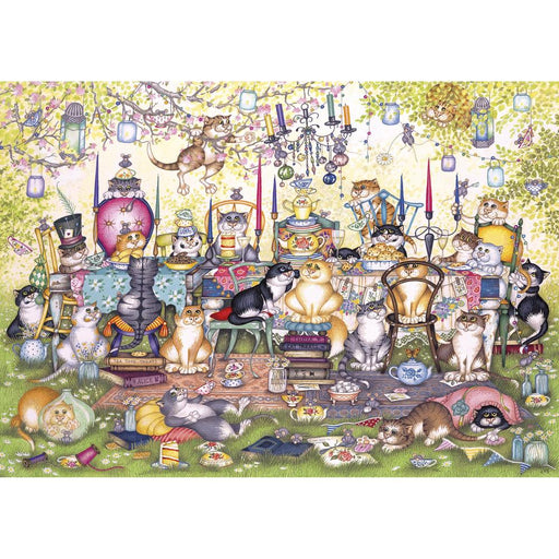 Gibsons Mad Catter's Tea Party 250XLpc Jigsaw Puzzle