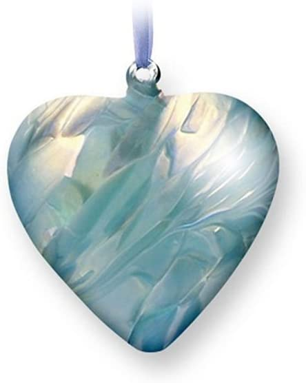 Nobile Glassware Birth Gem Heart - March