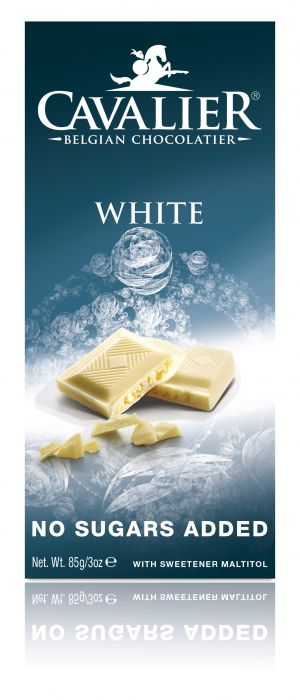 Cavalier White Chocolate No Added Sugar Bar
