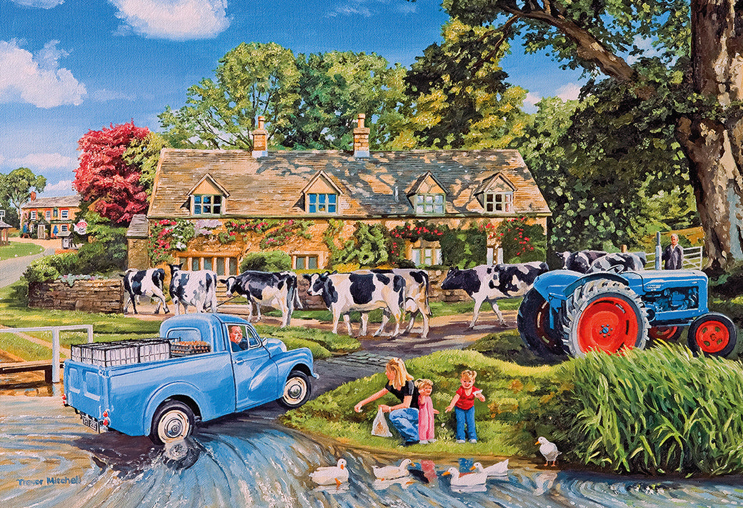 Gibsons Milk on the Move 250XLpc Jigsaw Puzzle