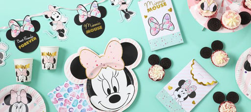 Minnie Mouse Gem Paper Party Bags