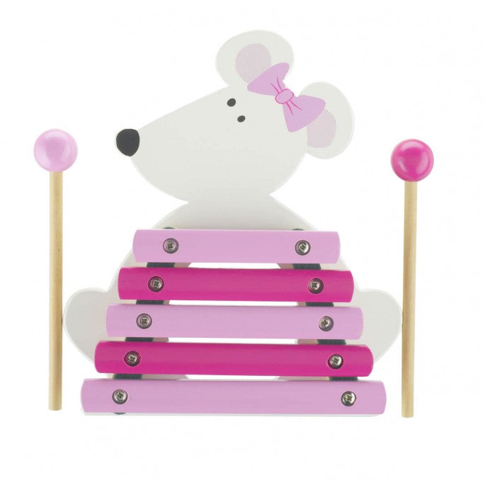Orange Tree Pink Mouse Xylophone